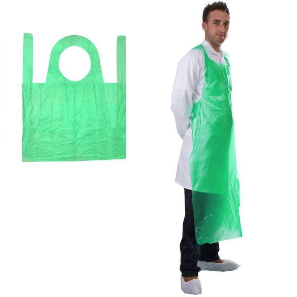 PE Apron Green